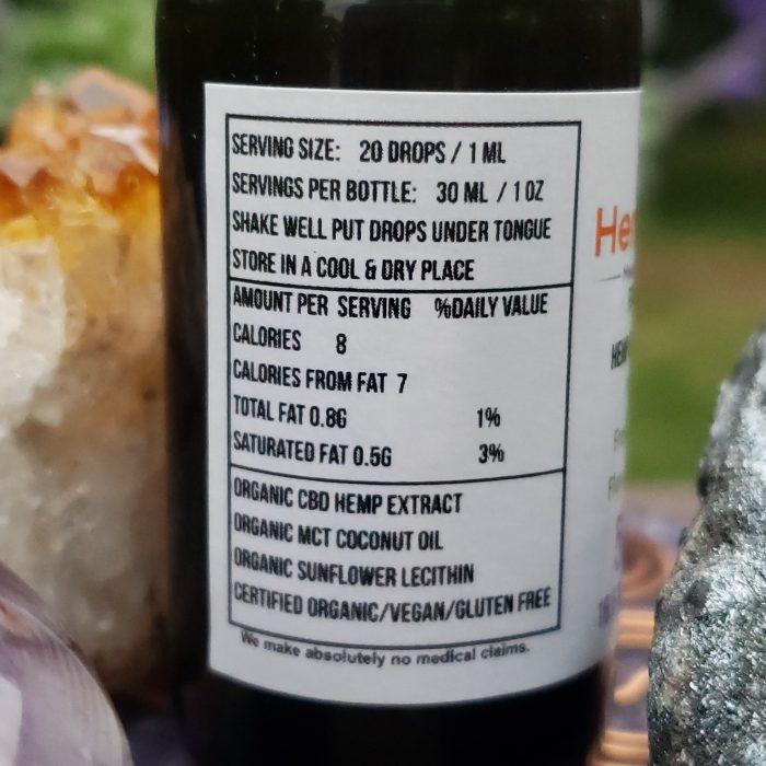 CBD Product Info